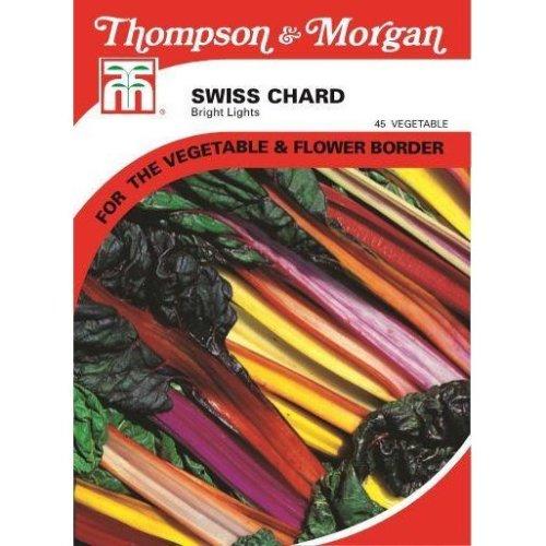 Thompson & Morgan - Vegetables - Swiss Chard Bright Lights - 80 Seed