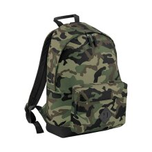 BagBase 18L Camo Camouflage School Sports Gym Travel Work Backpack Rucksack Bag