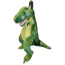 Natural History Museum WY0004NHM T-Rex Dinosaur Backpack Green Children's