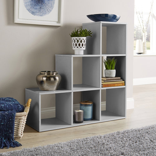 Staircase Cube Unit Grey