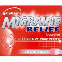 Gapharm Migraine Relief 16 Capsules
