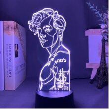 3D Night Light Harry Styles lamp Gift Fans Bedroom Decor