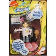 Spongebob Squarepants 8.9cm Poseable Figure - Sandy Cheeks