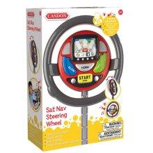 Casdon Toy Car Sat Nav Steering Wheel