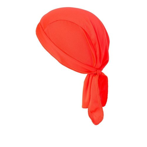 (One Size, Bright Orange) Myrtle Beach Functional Bandana Hat