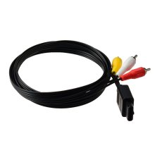 Gam3Gear AV Audio Video Composite Cable for SNES N64 Gamecube PAL