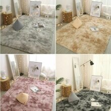 Large Shaggy Rugs Floor Carpet Living Room Bedroom Warm Soft Fluffy Area Rug Mat