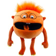 The Puppet Company - Baby Monsters - Orange Hand Puppet