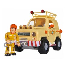 Fireman Sam Toy Rescue Car Kids Childs Toy Play Vehicle Action Jeep Boys Gift