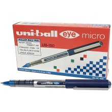 uni-ball uniball Eye Micro Rollerball Pen  UB-150 Liquid Ink Blue Pack 12