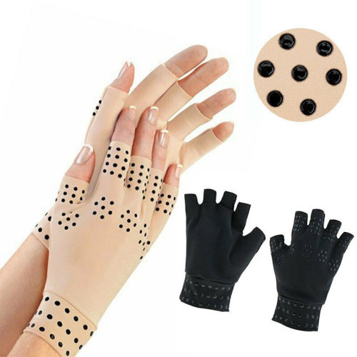 Magnetic Anti-Arthritis Hand Support Joint Finger Compression Pain Relief Gloves