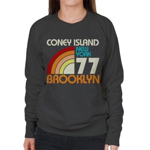 Coney Island Retro 77 Women's Sweatshirt