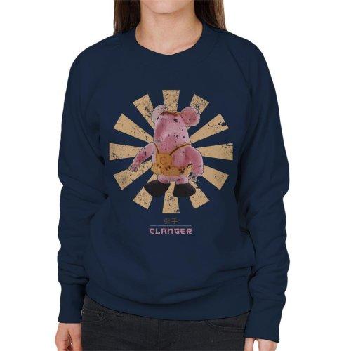 Clanger Retro Japanese Women's Sweatshirt