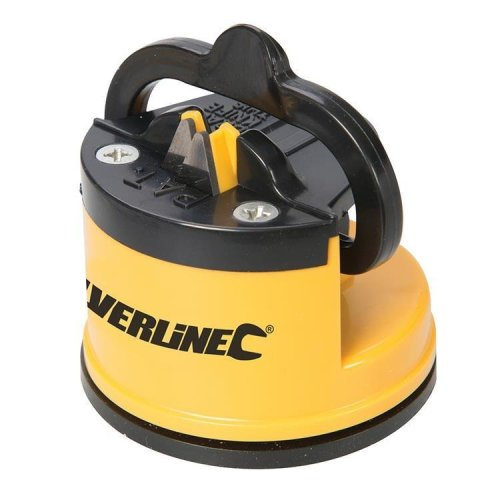 Silverline Knife Sharpener With Suction Base 60 x 65 x 60mm - 270466 -  knife sharpener suction base x silverline 270466 60 65 60mm