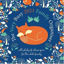 VERY BUSY FAMILY ORGANISER 2021 SQUARE W by Browntrout