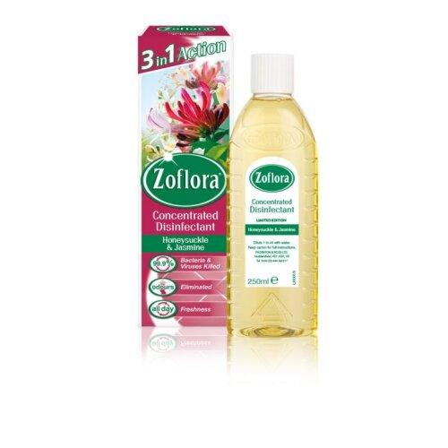 Zoflora Disinfectant 250ml Honeysuckle & Jasmine [168168]