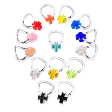 Hicarer 14 Pieces Nose Clip Swimming Nose Plug Swim Nose Protector for Swimming (14 Colors)