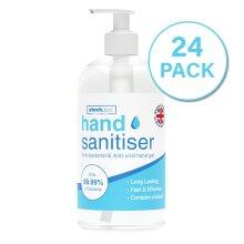 24 x 500ml Hand Sanitiser Gel 70% Alcohol