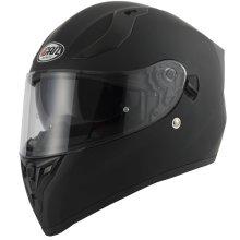 Vcan V128 Matt Black Full Face Dual Visor Motorcycle Helmet