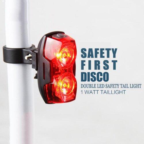 Led Bicycle Tail Light Mountain Bike Night Riding Waterproof Rear Lamp
