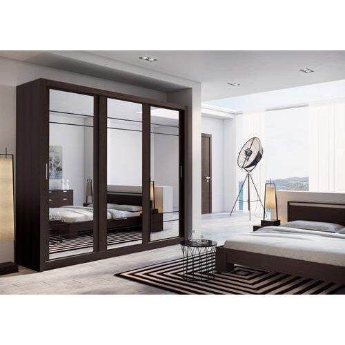 (Wenge) Arti 2 - 3 Sliding Door Wardrobe 250cm