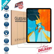 (2 Pack) Ultra Clear 9H Scratch Resistant HD Quality Tempered Glass Screen Protector for Apple iPad Pro 11 inch 1st / 2nd / 3rd Gen (2021/2020/2018)