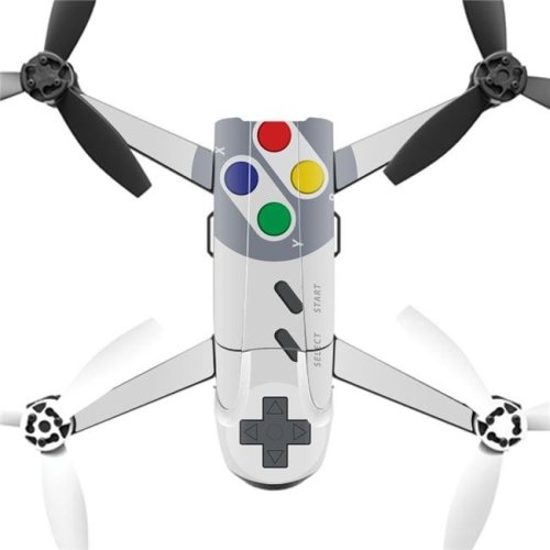 MightySkins PABEBOP2-Retro Gamer 1 Skin Decal Wrap for Parrot Bebop 2 Quadcopter Drone - Retro Gamer 1
