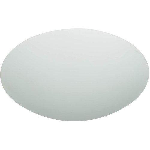 Westinghouse Lighting Frosted Mushroom Shade, 21.7 cm - White