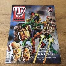 2000AD featuring Judge Dredd 1991 #739 Comic - Used