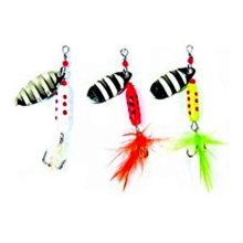 Big Rock Sports 239451 Eagle Claw Hair Spinner - Assorted Color, 3 Piece