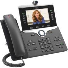 Cisco 8865 Ip Phone Wi-Fi Bluetooth Desktop Wall Mountable Voip Ieee 802.11 CP-8865-3PCC-K9=