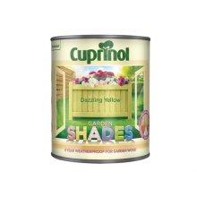 Cuprinol 5244471 Garden Shades Dazzling Yellow 1 Litre