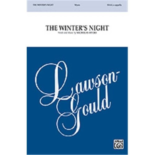 Alfred 00-32961 The Winter s Night - Music Book