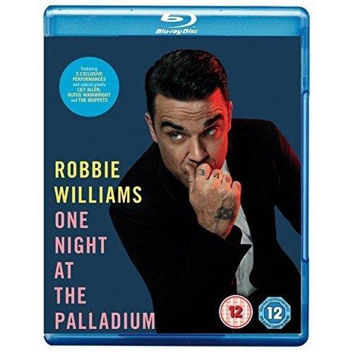 Robbie Williams - One Night At The Palladium Blu-Ray [2013]