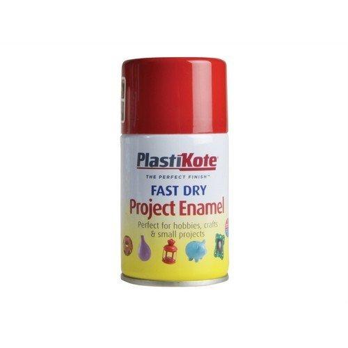 Plasti-Kote PKT106S Fast Dry Enamel Aerosol Insignia Red 100ml