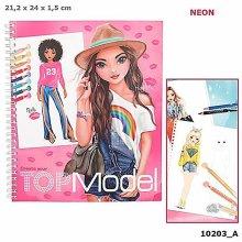 Depesche - Colouring Book Create Your Top Model