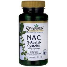 Swanson  NAC N-Acetyl Cysteine, 600mg - 100 caps