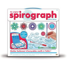 Spirograph Deluxe Kit Contains More Than 45 Pieces
