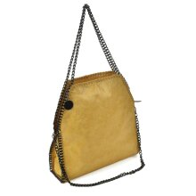 VK5326-2 YELLOW - Shoulder Bag With Chain Handle