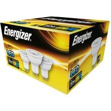 4 Pack ENERGIZER LED S9451 GU10 370LM Energy Saving Bulbs