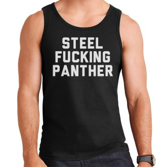 (XX-Large) Steel Fucking Panther Men's Vest