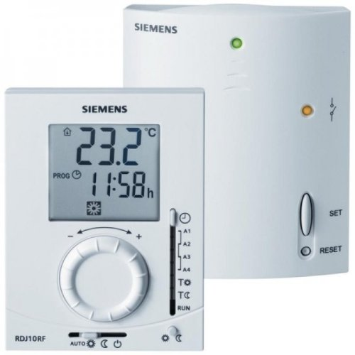 Siemens RDJ10RF/SET-GB Room Programmable Wireless Thermostat