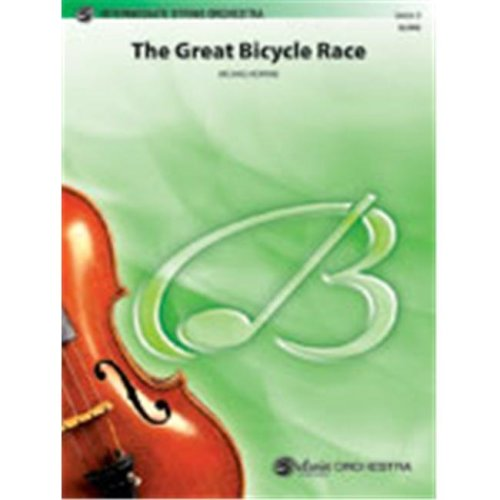 Alfred 00-31535 The Great Bicycle Race - Music Book