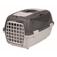 Capri 2 Transport Box, Xs–s: 37 × 34 × 55 Cm, Light Grey/dark Grey - Trixie Pet -  grey trixie capri light pet carrier transporting box greydark