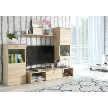 Oak colour Living Room Furniture Set