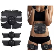 Abs Stimulator, Go Gym Device- Muscle Sculpting at Home- Fitness Equipment