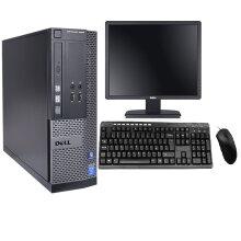 Dell PC Desktop Bundle-i3 8GB RAM(500GB/1TB HDD) - Refurbished