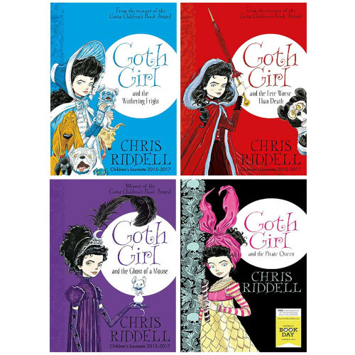 Goth Girl Series Collection 4 Books Set