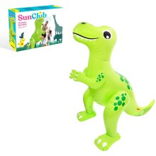 Sun Club Inflatable Green Dinosaur Sprinkle - 2m | Blow-Up Sprinkler