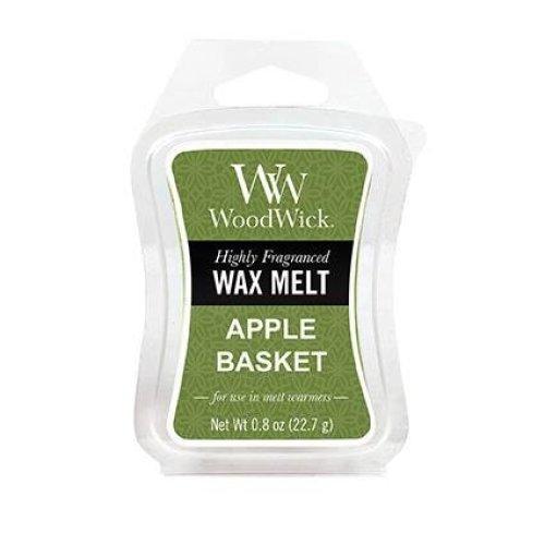 WoodWick Scented Mini Hourglass Wax Melt Apple Basket